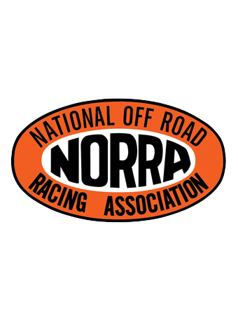 Large Oval NORRA Sticker